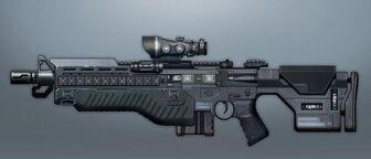 Rifle de asalto Naginata