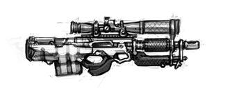 Rifle de precisión Headhunter