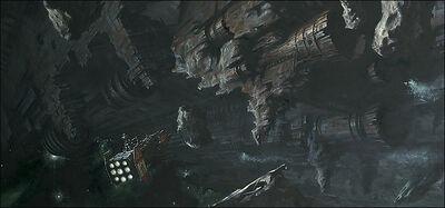 Pecio Espacial Space Hulk