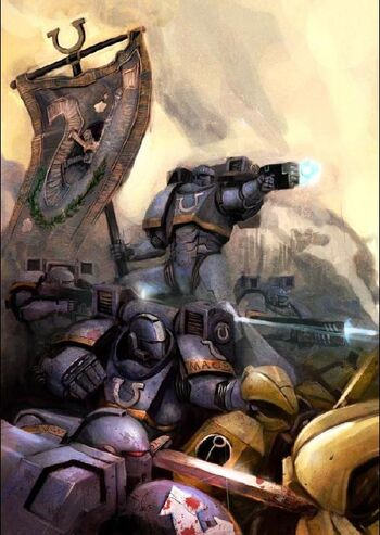 Herejía de Dorn Ultramarines 2