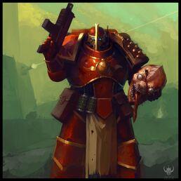 Marine Táctio de los Señores del Saber