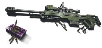 Rifle de precisión Némesis