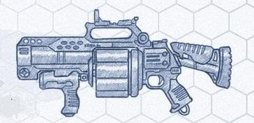 Lanzagranadas modelo Laxis M39
