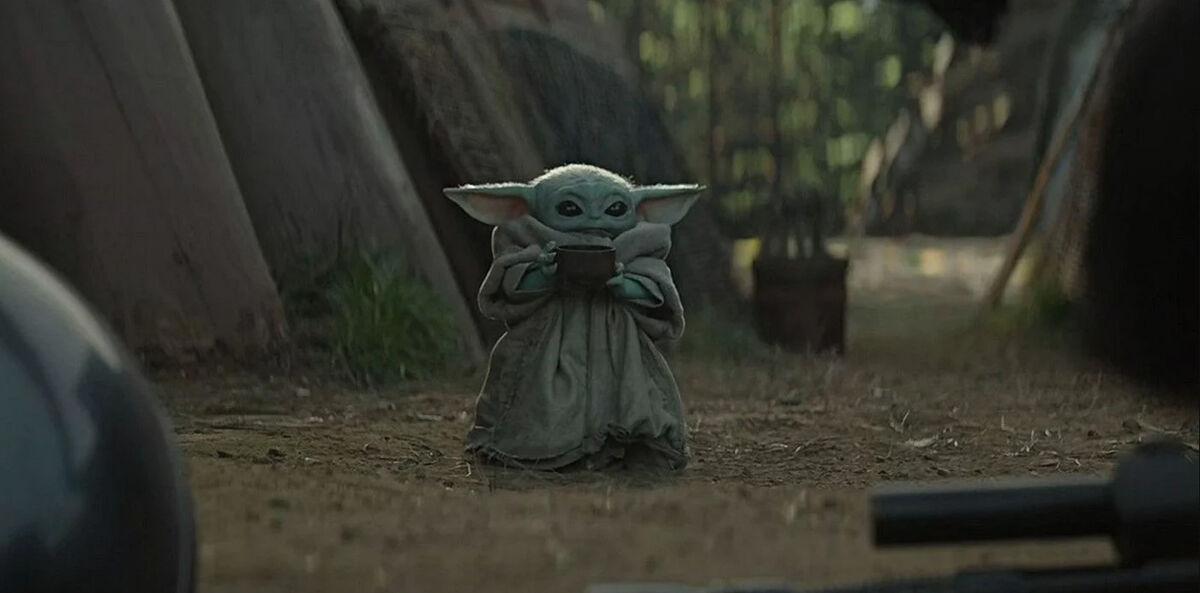 Baby Yoda bone broth