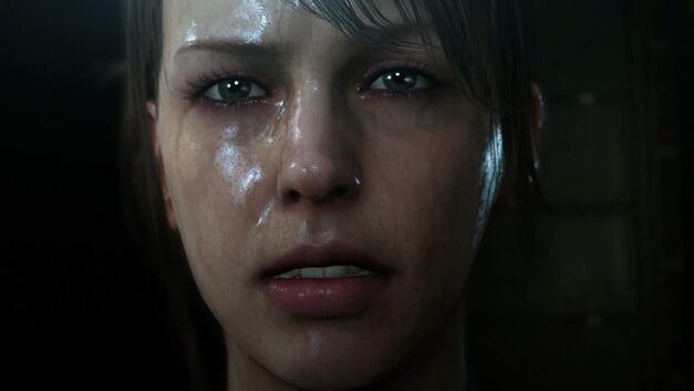 Metal Gear Solid V quiet sad