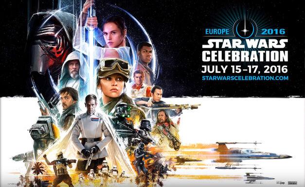 Star Wars Celebration 2016 poster