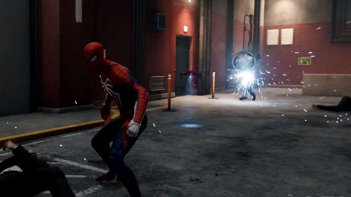 Spider-Man PS4 gadgets Spider-Drone