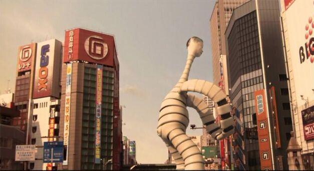 big man japan strangling monster