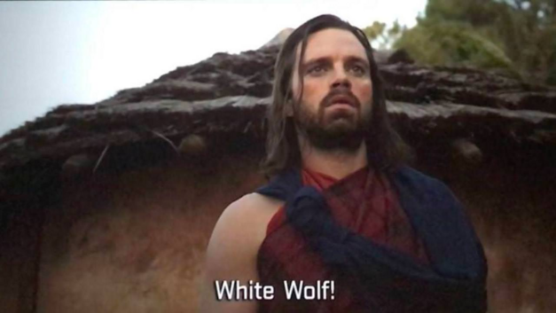 bucky black panther white wolf
