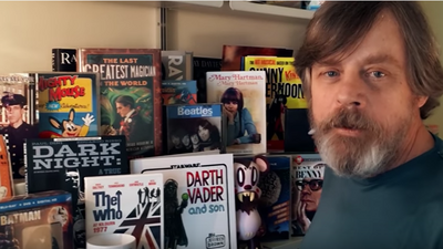 Mark Hamill Embarks on a New Quest
