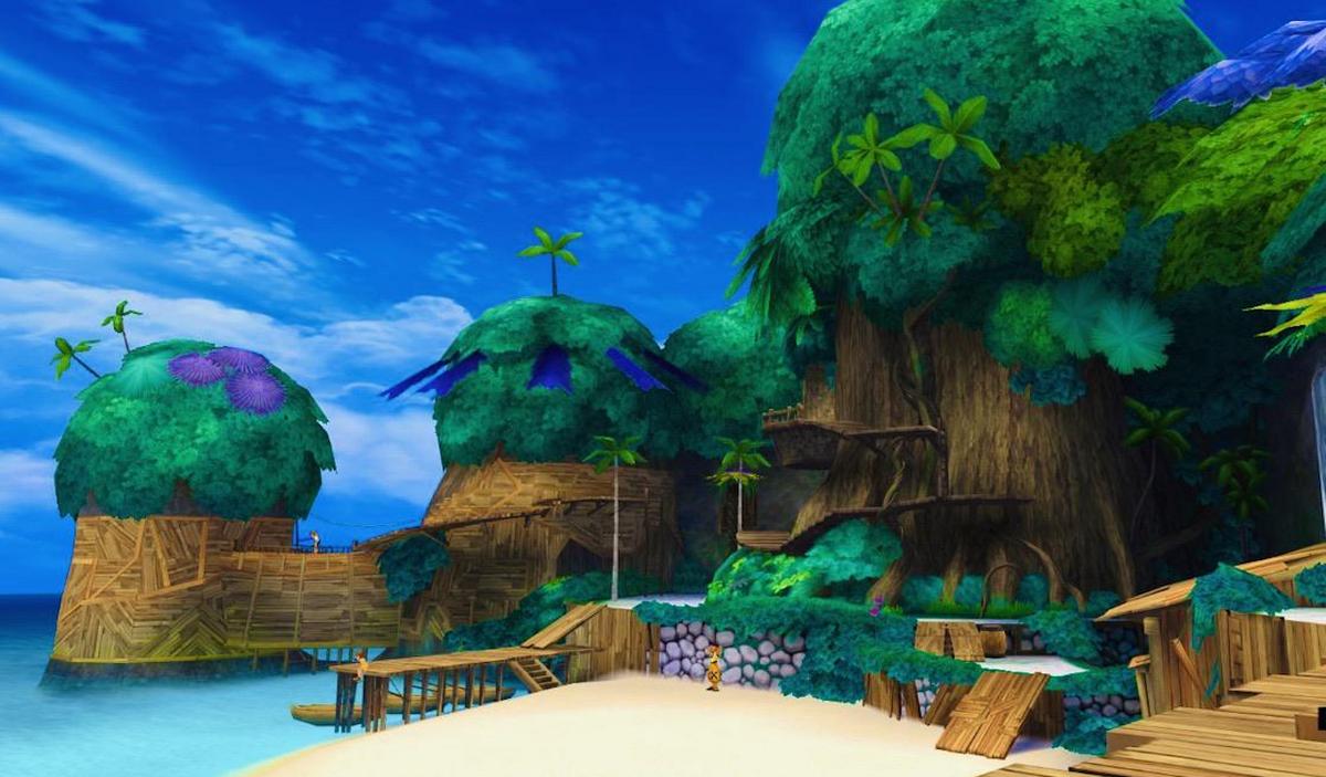 A view of Destiny Islands
