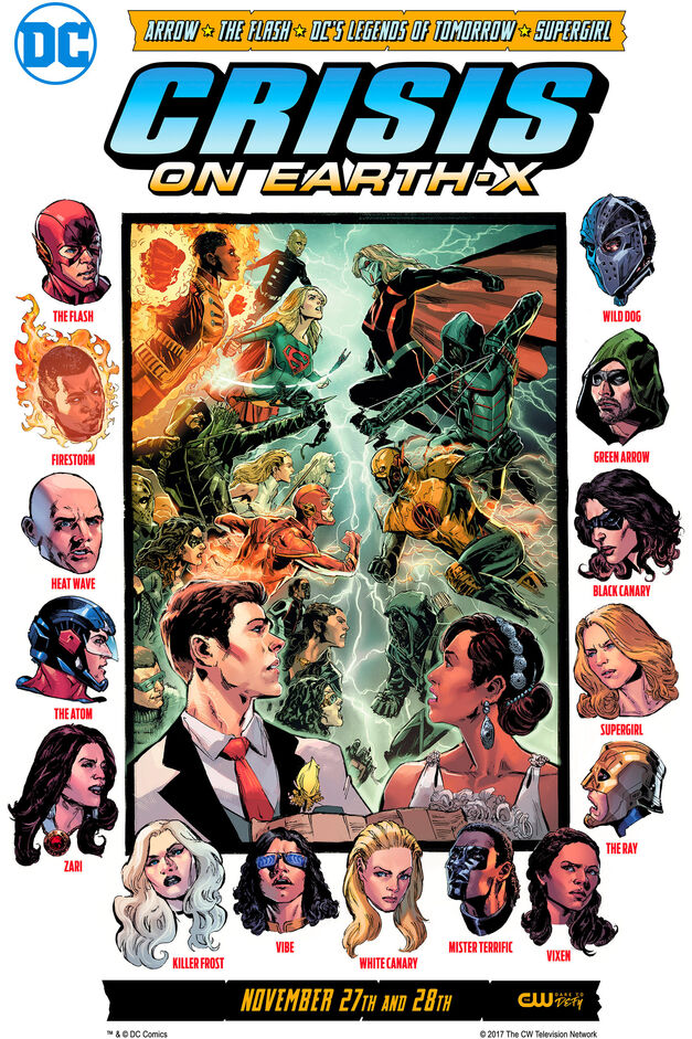 Arrowverse Crossover Crisis on Earth X