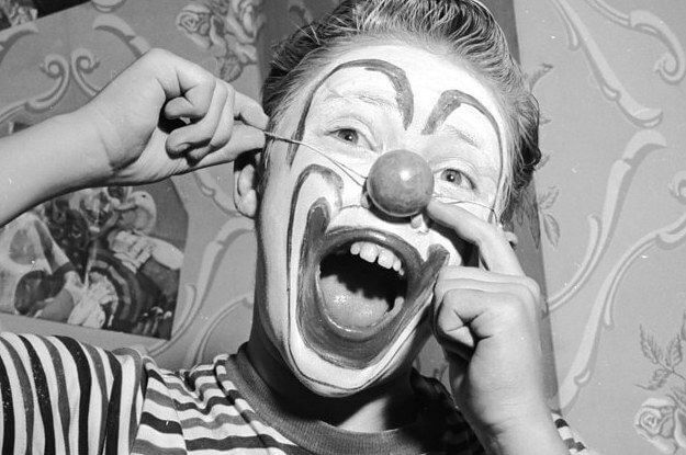 Christopher Walken Clown