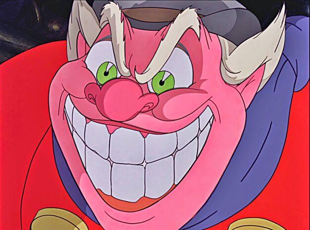 coachman pinocchio devil