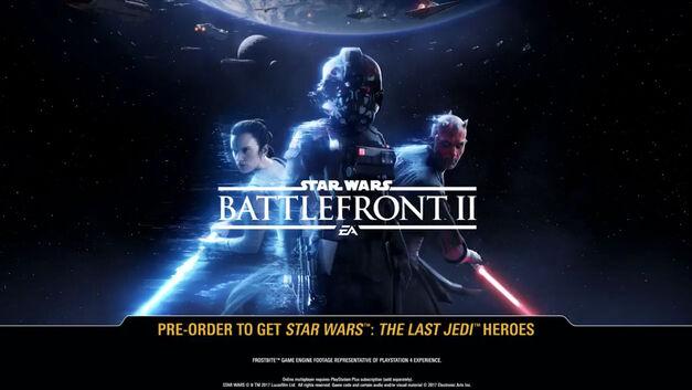 Star Wars: Battlefront II pre-order incentive