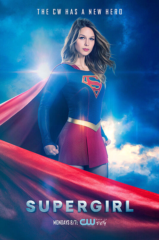 Supergirl -- Image SPG_S2_KEYART.1 -- Pictured: Melissa Benoist as Supergirl -- Photo: Frank Ockefels III/The CW -- ÃÂ'Ã'© 2016 The CW Network, LLC. All Rights Reserved