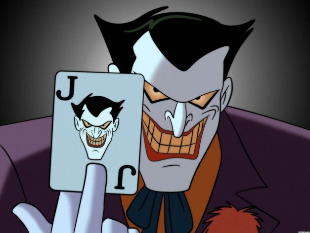 The Joker plays The Joker card