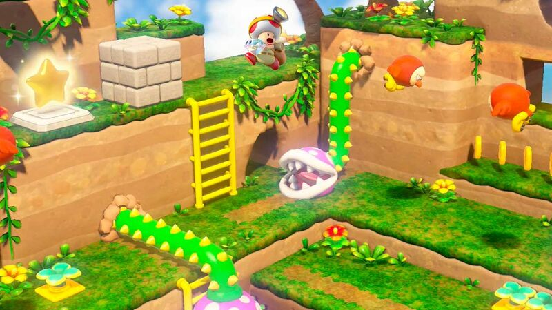 Captain Toad: Treasure Tracker' on Switch Has Hidden 'Odyssey