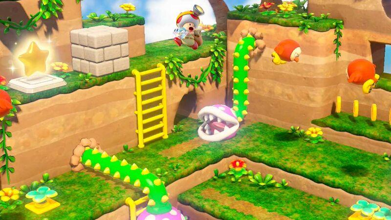 Captain Toad: Treasure Tracker' on Switch Has Hidden