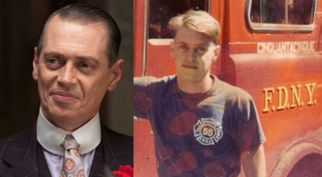 Steve Buscemi was a firefighter before he was famous