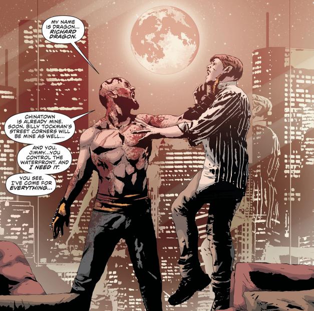 Green Arrow Villain Richard Dragon New 52