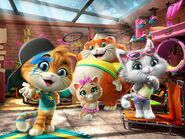 44-cats-cast-stars-characters-no-logo-rainbow-group-nickelodeon-nick