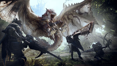 'Monster: Hunter World' Map Will Have You Tackling Heat