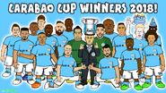 Manchester City Carabao Cup EFL winner