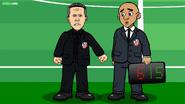 Diego Simeone assistant referee