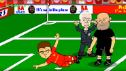 Bald referee
