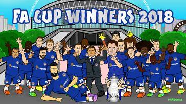 Chelsea FA Cup winners