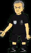 Jose Moaninho referee render
