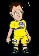 John Terry in Chelsea FC kit 2015