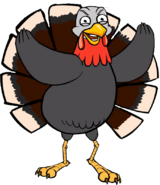 Turkey render
