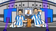 Huddersfield town terrier dog