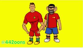 Ronaldo and Costa