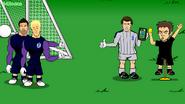 Peter Shilton fake referee Hart Forster