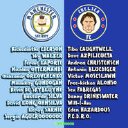 Manchester City Chelsea squad
