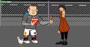 Wayne Rooney Rocky van Gaal chicken