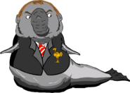 Brendan the elephant seal