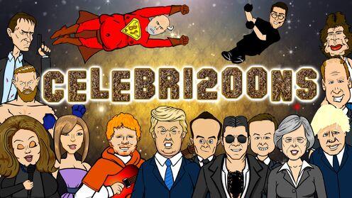 Celebri2oons cover