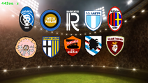 Serie a teams on 442oons