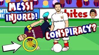 🚑MESSI INJURED - A CONSPIRACY?!🚑
