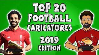 ✍️Top 20 Football Caricatures 2019✍️ (442oons football cartooons)
