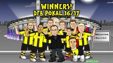 DFB Pokal Borussia Dortmund