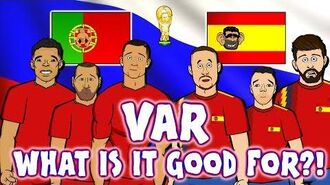 📺VAR📺 WHAT IS IT GOOD FOR? Portugal & Spain don't know! (Ronaldo elbow Cedric handball Aspas Goal)