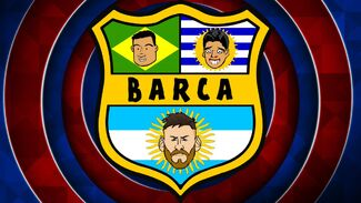 Barca badge