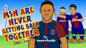 NEYMAR SIGNS FOR PSG!😢MSN are never getting back together..