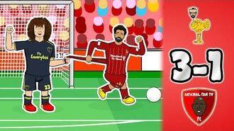 🤡DAVID LUIZ - LOL!🤡 Liverpool vs Arsenal 3-1! (Salah Matip Parody Goals Highlights 2019)