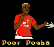 POOR POGBA FIGHTING ZOMBIES!!!